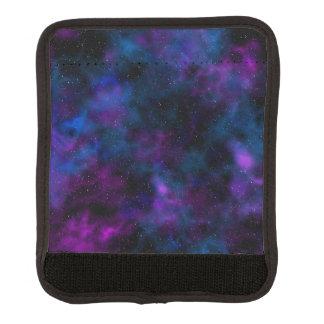 宇宙の美しい銀河系夜星明かりのイメージ ラゲッジ ハンドルラップ