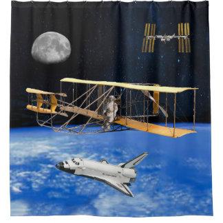宇宙の航海者 シャワーカーテン
