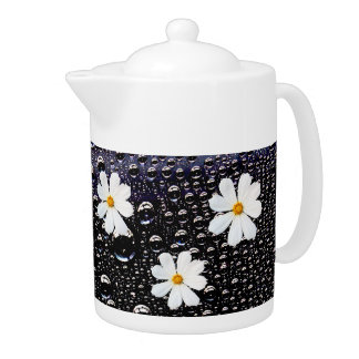 宇宙の花の茶ポット