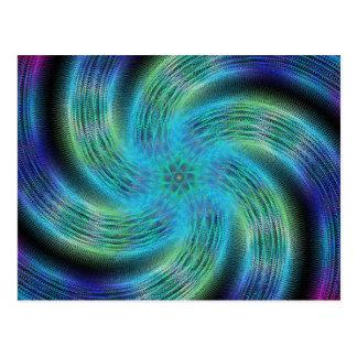 宇宙の螺線形 ポストカード