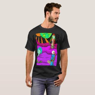 宇宙の衝突T-shirt2 Tシャツ
