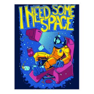 宇宙の郵便はがき ポストカード