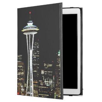 """宇宙の針との夜のシアトルのスカイライン、 iPad PRO 12.9"""" ケース"""