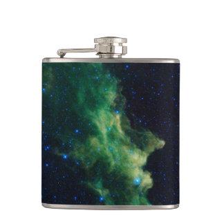 宇宙の銀河系のフラスコ フラスク
