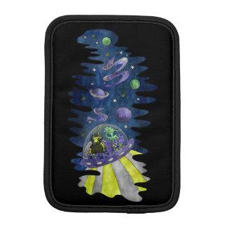 宇宙の銀河系の携帯電話用ポーチのエイリアンを持つHylaeusの蜂 iPad Miniスリーブ
