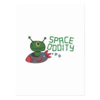 宇宙の風変り ポストカード
