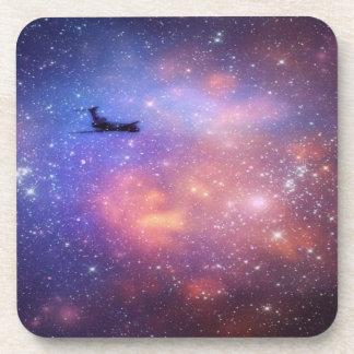 宇宙の飛行機のコースター コースター