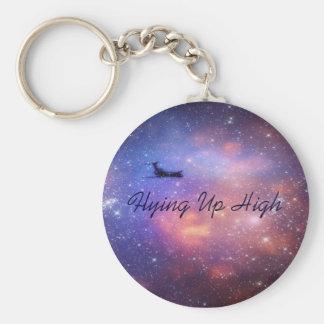 宇宙の飛行機Keychain キーホルダー