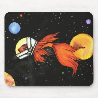 宇宙の魚! マウスパッド