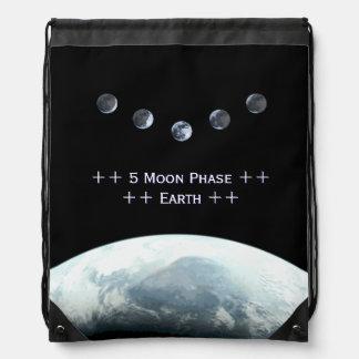 宇宙の5月段階の地球 ナップサック