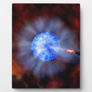 宇宙のM33ブラックホール フォトプラーク