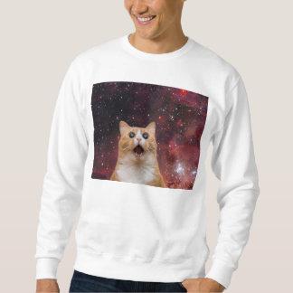 宇宙のscaredy猫 スウェットシャツ