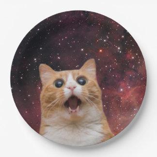 宇宙のscaredy猫 ペーパープレート