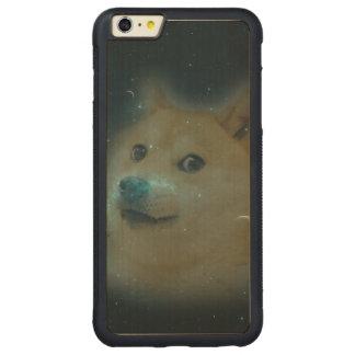 宇宙のshibeの総督 CarvedメープルiPhone 6 plusバンパーケース