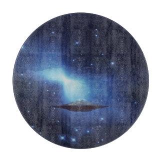 宇宙のUFOの飛んでいるな目的 カッティングボード