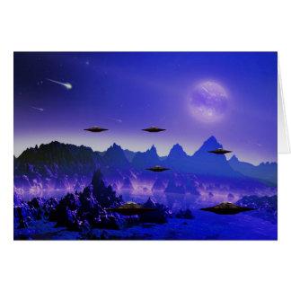 宇宙のUFOの飛んでいるな目的 カード