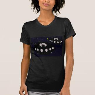 宇宙のUFO Tシャツ