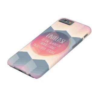宇宙は私に何かを美しい今日の場合示します BARELY THERE iPhone 6 ケース
