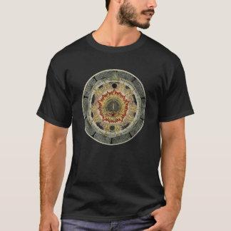 宇宙ばら色の曼荼羅 Tシャツ