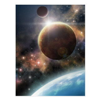 宇宙への歓迎 ポストカード