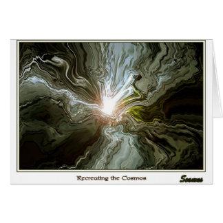 宇宙を作り直すこと グリーティングカード