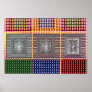 宇宙エネルギートンネルのNavinJoshiの大判カメラ36x24 ポスター