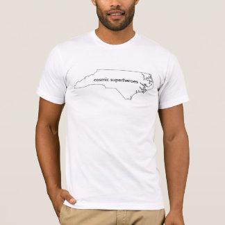 宇宙スーパーヒーローNCのTシャツ Tシャツ