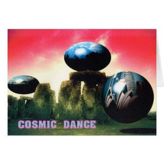 宇宙ダンス カード