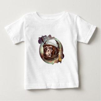 宇宙チンパンジー ベビーTシャツ