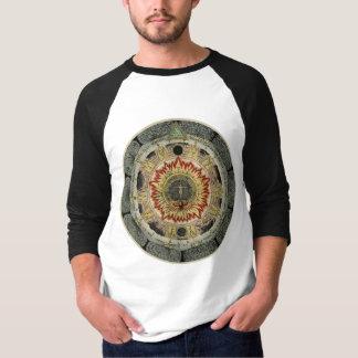 宇宙バラのAlchemical曼荼羅 Tシャツ