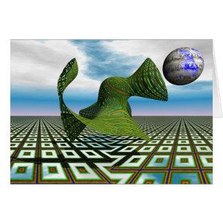 宇宙プードル- Notecard カード