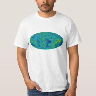 宇宙マイクロウェーブ背景のティー Tシャツ