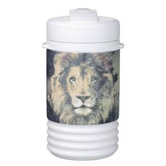 宇宙ライオン王|のカスタムなイグルーのベバレッジクーラー ドリンククーラー