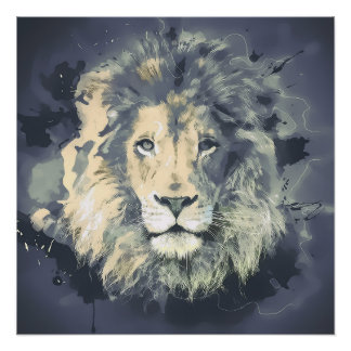 宇宙ライオン王 ポスター