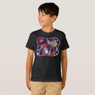 宇宙ロボットの銀河の宇宙宇宙はTシャツをからかいます Tシャツ
