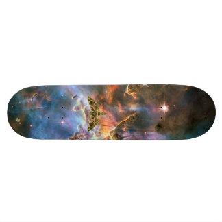 宇宙三角形のデザイン 20.6CM スケートボードデッキ