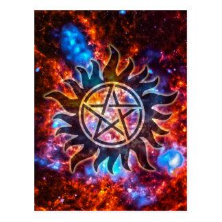 宇宙五芒星 ポストカード