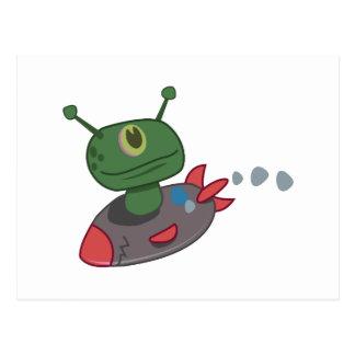 宇宙人 ポストカード