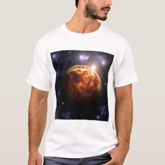 宇宙場面 Tシャツ