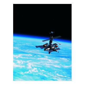 宇宙局の軌道地球7 ポストカード
