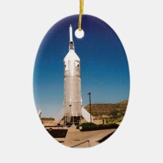 宇宙探検ロケット セラミックオーナメント