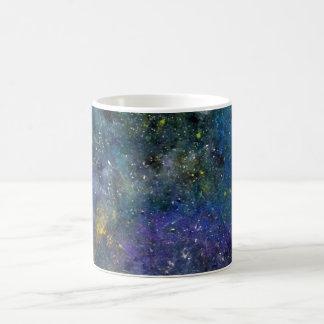 宇宙星明かりの空-オリオンか銀河の宇宙 コーヒーマグカップ