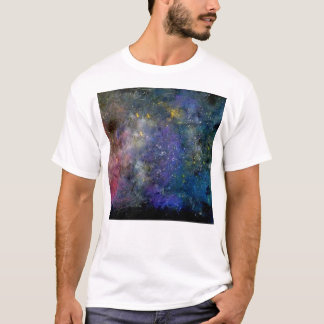 宇宙星明かりの空-オリオンか銀河の宇宙 Tシャツ