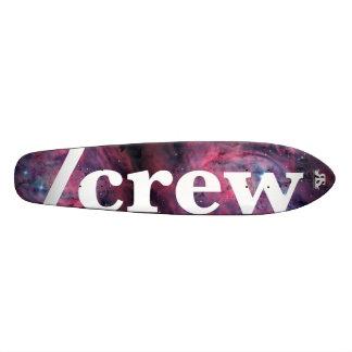 宇宙板への/Crewのスケート スケボーデッキ