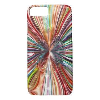 宇宙水晶花 iPhone 7ケース