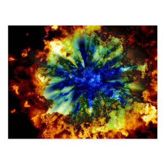 宇宙爆発 ポストカード