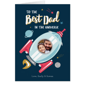 宇宙父の日カードのベスト カード