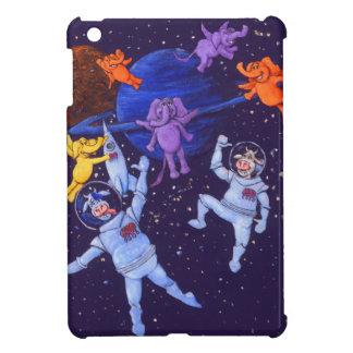 宇宙牛 iPad MINI カバー