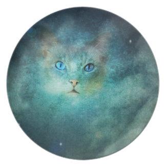 宇宙猫のプレート プレート