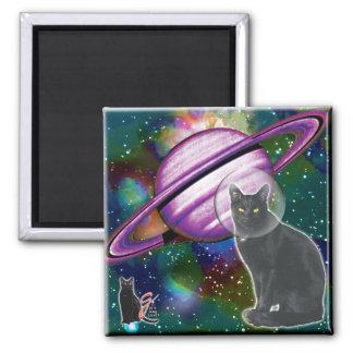 宇宙猫のCosmoの磁石 マグネット